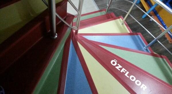Anaokulu Merdiven Kaplama